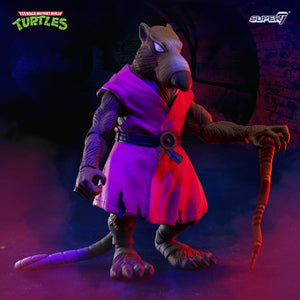 "Super7 TMNT Teenage Mutant Ninja Turtles Ultimates - Splinter 7"" Action Figure"
