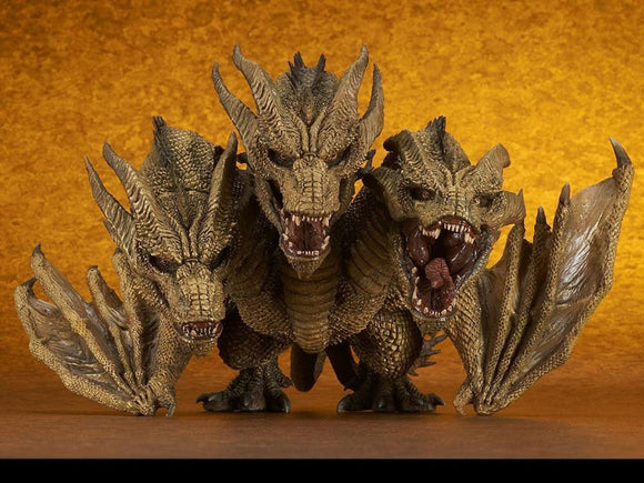 X-Plus Godzilla King of the Monsters DefoReal King Ghidorah