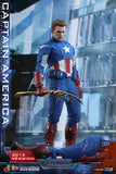 Hot Toys Marvel Comics Avengers Endgame Captain America (2012 Version) 1/6 Scale Collectible Figure