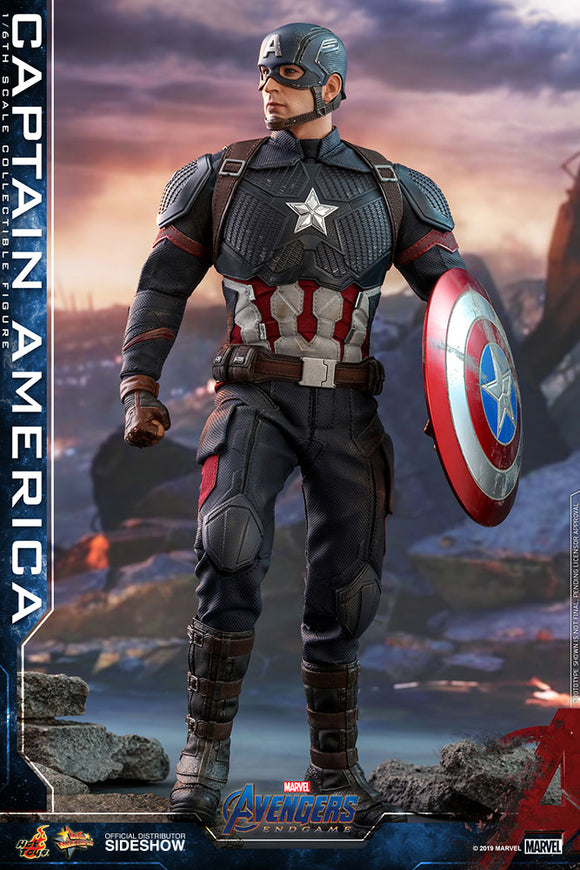 Hot Toys Marvel Comics Avengers Endgame Captain America 1/6  Scale Collectible Figure