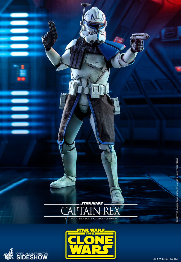 Hot Toys Star Wars The Clone Wars Captain Rex 1/6 Scale 12