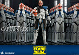 "Hot Toys Star Wars The Clone Wars Captain Rex 1/6 Scale 12"" Collectible Figure"