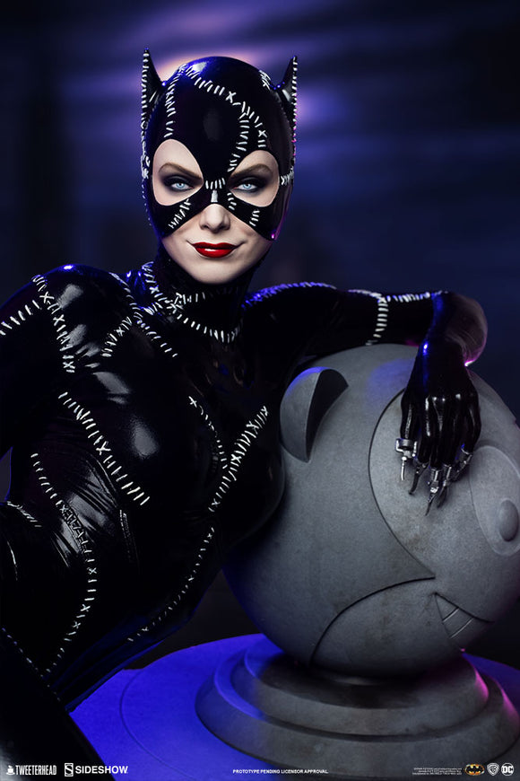 Tweeterhead DC Comics Batman Returns Catwoman 1/4 Scale Maquette Statue
