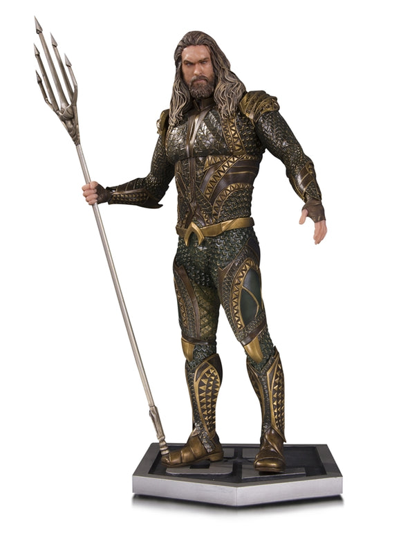 DC Comics Justice League Movie Aquaman Statue