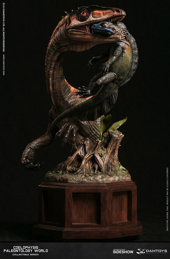 Damtoys Museum Collection Series MUS008B Coelophysis - Red Statue