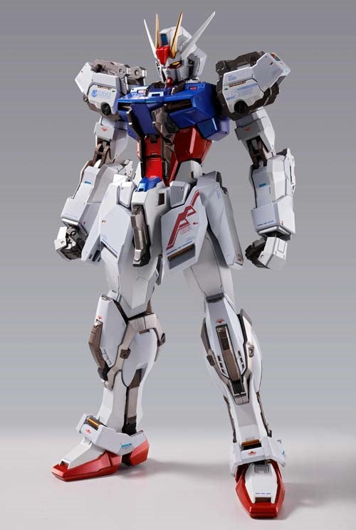 Bandai Mobile Suit Gundam Seed Gundam Metal Build Aile Strike Gundam Diecast Figure