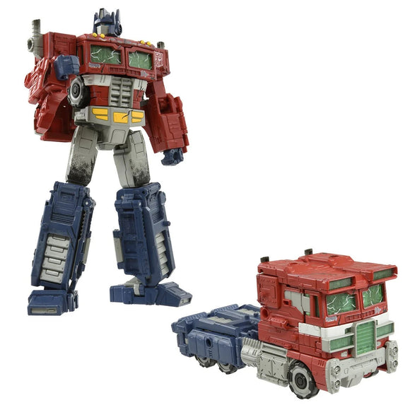 Hasbro Transformers Premium Finish War for Cybertron WFC-01 Voyager Optimus Prime Action Figure