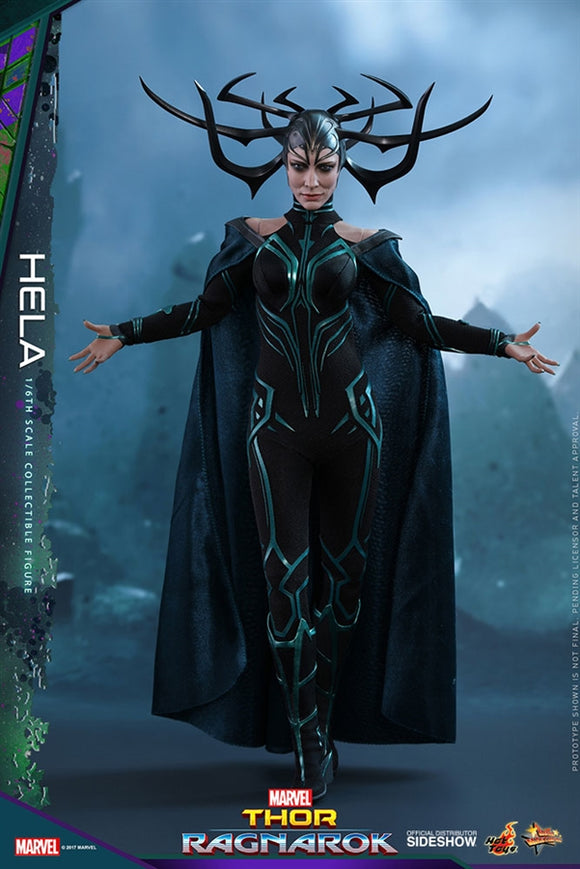 Hot Toys Marvel Thor Ragnarok Hela 1/6 Scale Figure