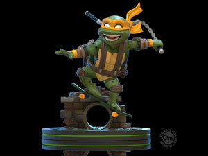 QMx TMNT Teenage Mutant Ninja Turtles Q-Fig Michelangelo Figure