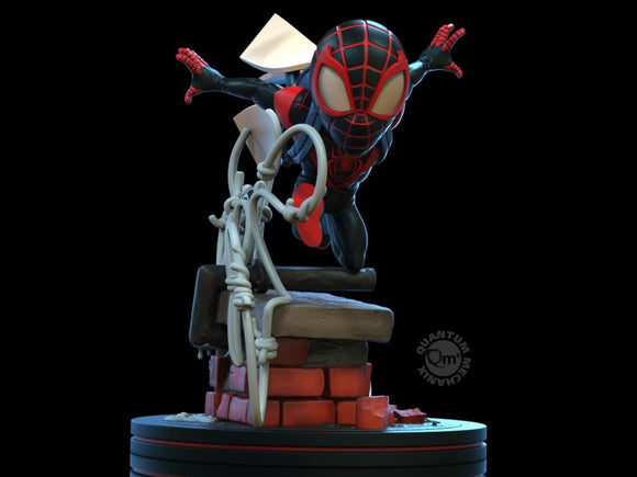 QMx Marvel Q-Fig Elite Spider-Man Miles Morales  Diorama Figure