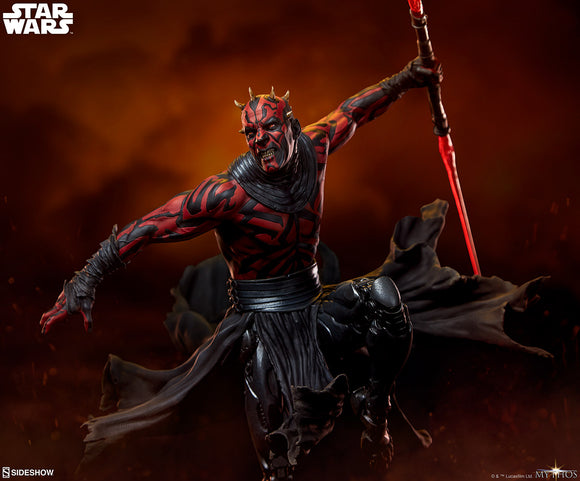 Sideshow Star Wars Darth Maul Mythos Statue