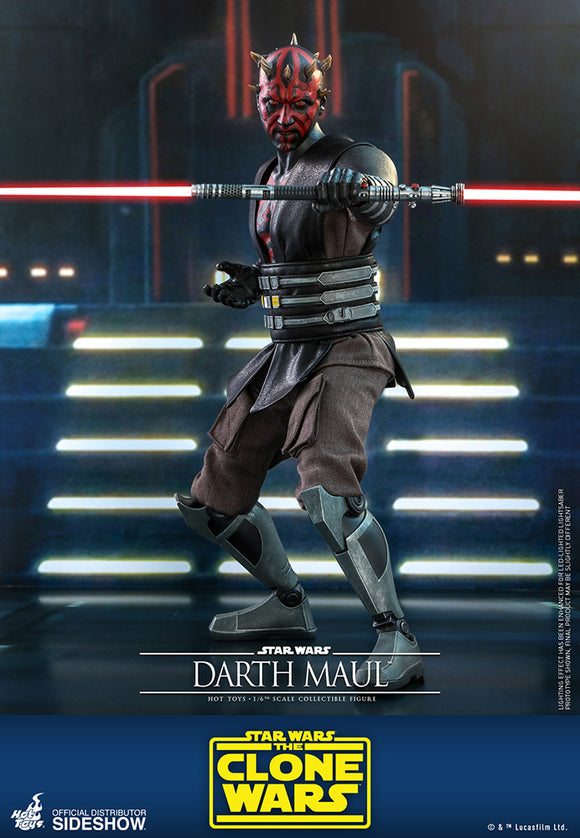 Hot Toys Star Wars The Clone Wars Darth Maul 1/6 Scale 12
