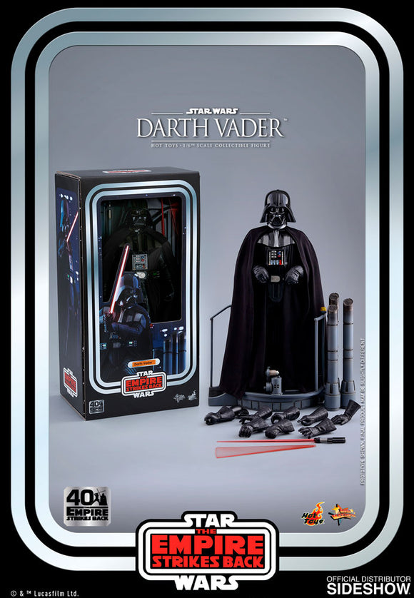Hot Toys Star Wars: The Empire Strikes Back 40th Anniversary Collection Darth Vader 1/6 Scale 12