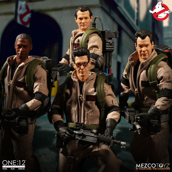 Mezco Toyz One12 Collective Ghostbusters Deluxe Box Set 1/12 Scale 6