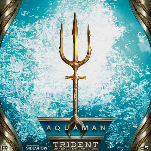 Factory Entertainment DC Comics Aquaman: Movie - Hero Trident Limited Edition Prop Replica