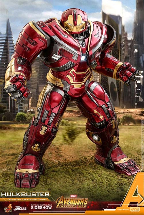 Hot Toys Marvel Avengers Infinity War Hulkbuster 1/6 Scale Power Pose Figure