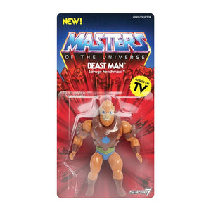 Super7 Masters of the Universe Vintage Wave 2 Collction Beast Man Action Figure