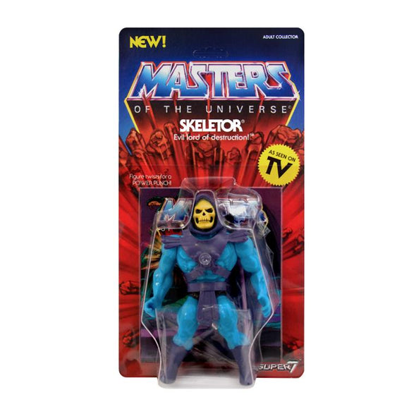 Super7 Masters of the Universe Vintage Wave 1 Collction Skeletor Action Figure