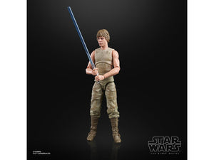 "Hasbro Star Wars 40th Anniversary The Black Series 6"" Wave 36 Luke Skywalker Figure"