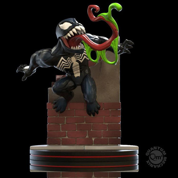 Qmx Marvel Venom Q-fig Diorama Figure