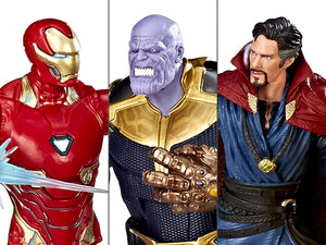 Marvel Legends Cinematic Universe 10th Anniversary Avengers Infinity War 6-Inch Action Figure 3-Pack