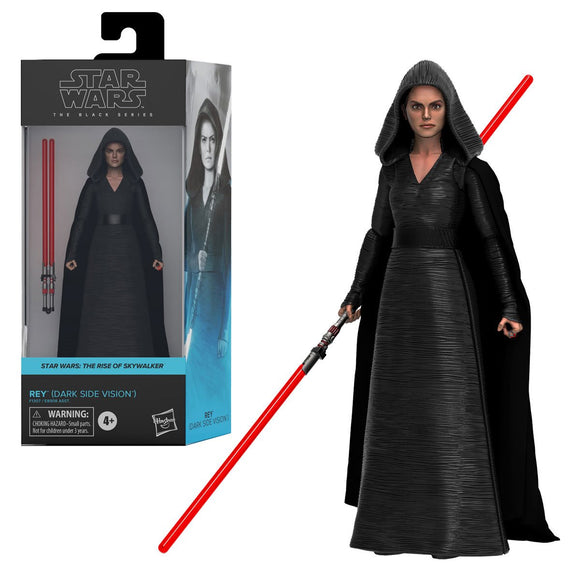 Hasbro Star Wars The Black Series Rey (Dark Side Vision) 6-Inch Action Figure