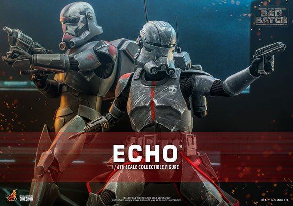 Hot Toys Star Wars The Bad Batch - Television Masterpiece Series  Echo 1/6 Scale Collectible Figure