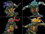 QMx TMNT Teenage Mutant Ninja Turtles Q-Fig Leonardo, Michelangelo, Donatello & Raphael Set of 4 Figures