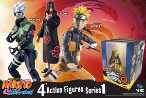 Toynami Naruto Shippuden 4-Inch Poseable Action Figure Series 1 Kakashi Action Figure