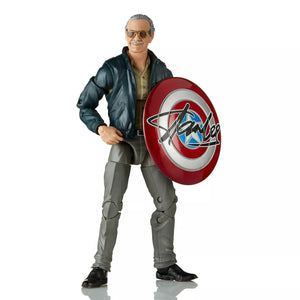 "Hasbro Marvel Comics 80th Anniversary Marvel Legends Stan Lee 6"" Action Figure"