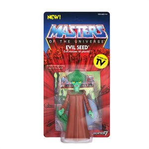 Super7 Masters of the Universe Vintage Wave 4 Collction Evil Seed Action Figure