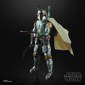 "Hasbro Star Wars The Black Series Black Series 6"" Boba Fett (Carbonized) 6-Inch Action Figure"
