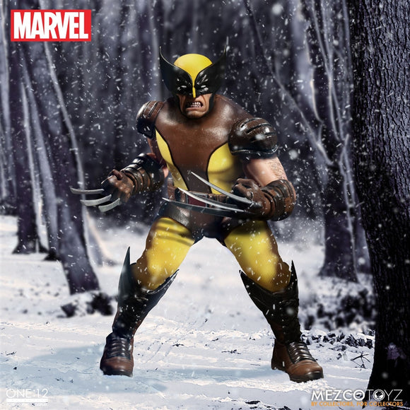 Mezco Toyz One12 Collective Marvel Comics Wolverine 1/12 Scale 6