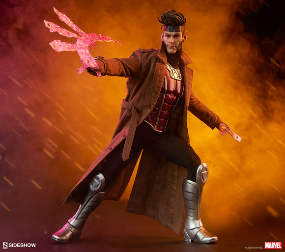 Sideshow Marvel Comics X-Men Gambit Deluxe 1/6 Scale 12