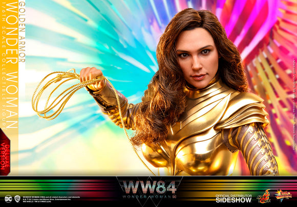 Hot Toys DC Comics Wonder Woman 1984 Golden Armor Wonder Woman (Deluxe Ver.) 1/6 Scale Collectible Figure