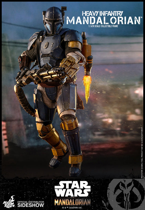 Hot Toys Star Wars The Mandalorian - Television Masterpiece Series Heavy Infantry Mandalorian 1/6 Scale Collectible Figure