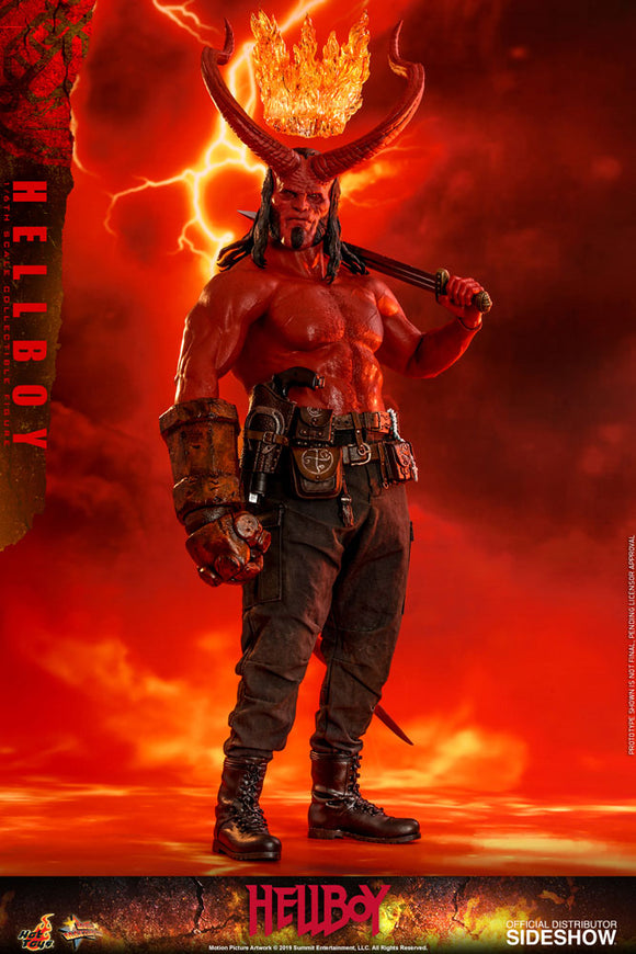 Hot Toys Hellboy 2019 Hellboy 1/6  Scale Collectible Figure