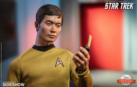 Quantum Mechanix Star Trek The Original Series Hikaru Sulu 1/6 Scale 12