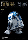 Beast Kingdom Star Wars Exclusive C-3PO & R2-D2 Chrome Figure Set