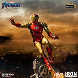 Iron Studio Marvle Avengers Endgame Battle Diorama Series Iron Man Mark LXXXV 1:10 Deluxe Art Scale Limited Edition Statue