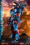 Hot Toys Marvel Comics Avengers Endgame Iron Patriot Diecast 1/6 Scale Collectible Figure
