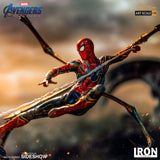 Iron Studios Marvel Comics Avengers Endgame Iron Spider VS Outrider Art Scale 1/10 Battle Diorama Series Statue