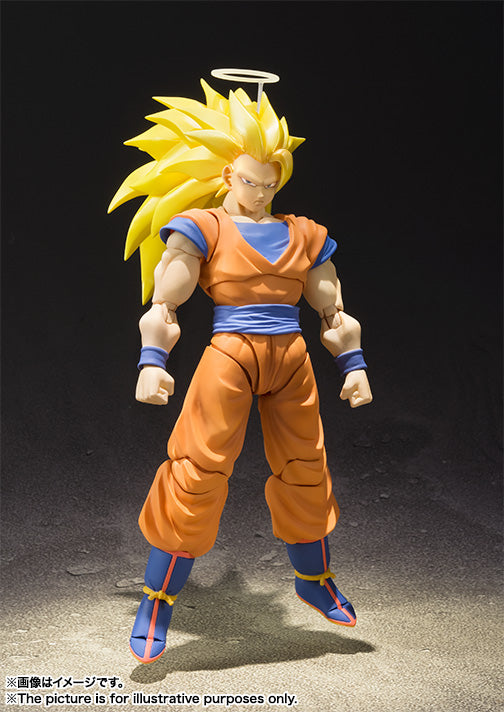 Bandai Tamashii Nations S.H. Figuarts Dragon Ball Z: Super Saiyan 3 Son Goku Figure