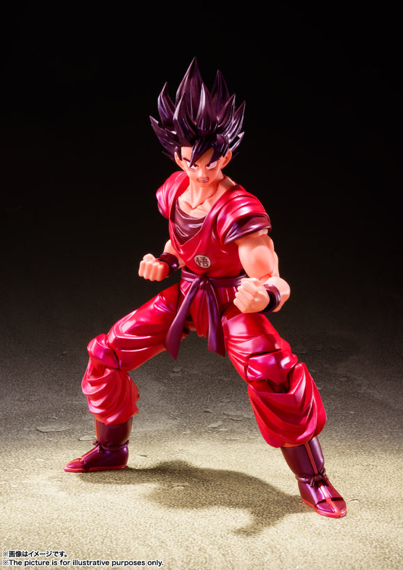 Bandai Tamashii Nations Dragon Ball Z S.H.Figuarts Goku (Kaio-ken) Action Figure