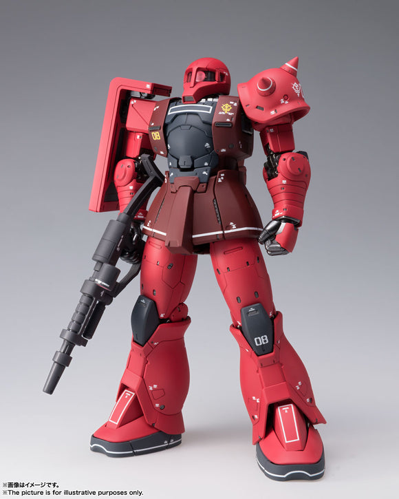 Bandai Gundam Fix Figuration Metal Composite MS-05S Char Aznable's Zaku I Diecast Action Figure
