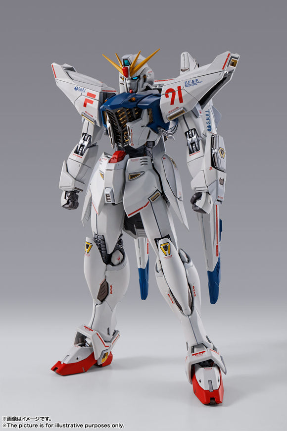 Bandai Gundam F91 Metal Build Gundam Formula 91 (Chronicle White Ver.) Exclusive Diecast Action Figure