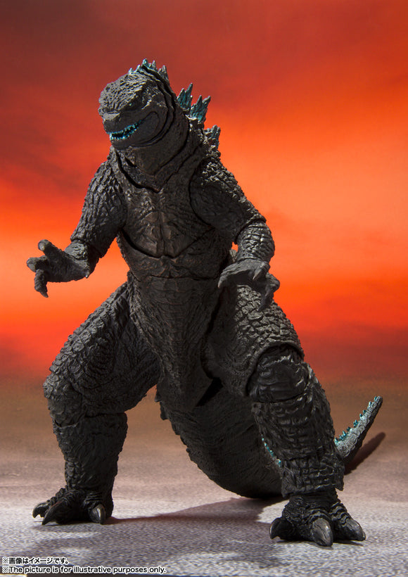 Bandai Godzilla vs. Kong S.H.MonsterArts Godzilla Action Figure