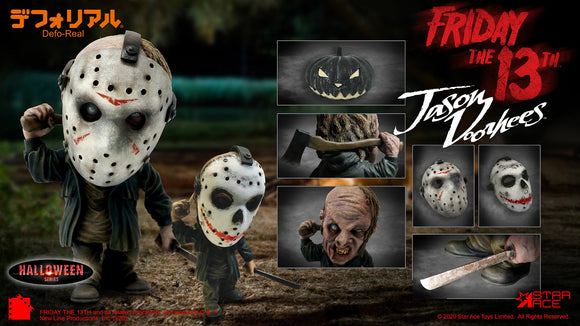 Star Ace Toys Friday the 13th Defo-Real Jason Voorhees (Halloween Ver.)