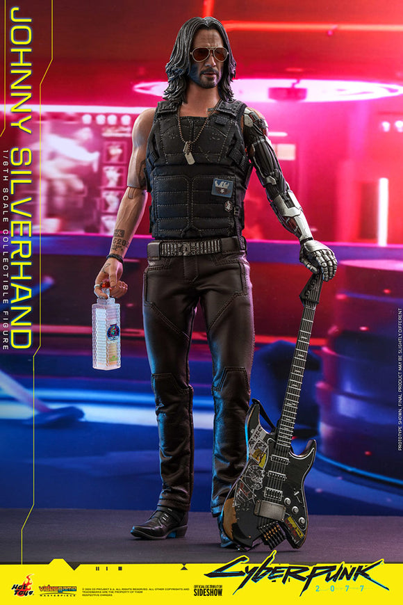 Hot Toys Video Game Masterpiece Series Cyberpunk 2077 Johnny Silverhand 1/6 Scale 12