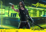 "Hot Toys Video Game Masterpiece Series Cyberpunk 2077 Johnny Silverhand 1/6 Scale 12"" Collectible Figure"
